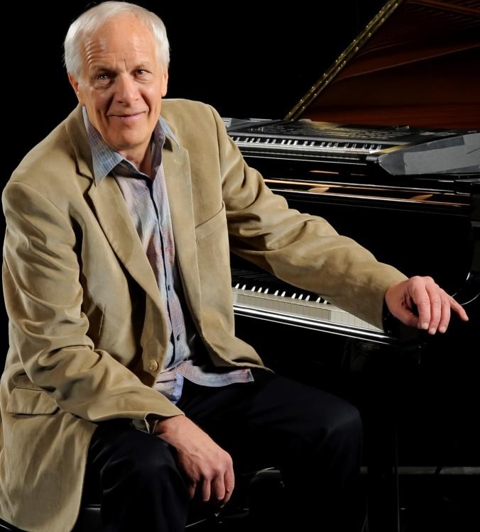 Ken at piano